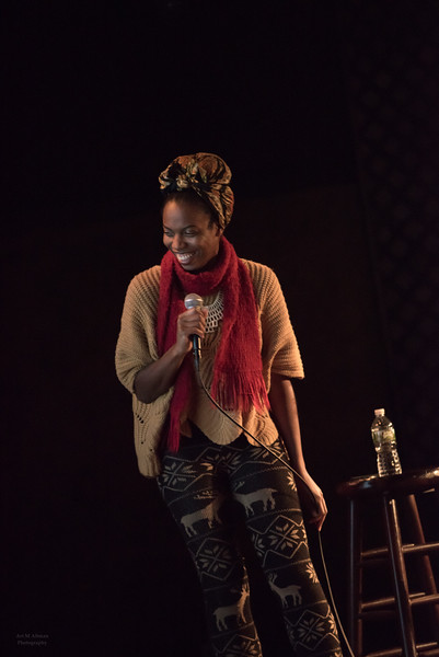 Sasheer Zamata, standup comic & star of Saturday Night Live
