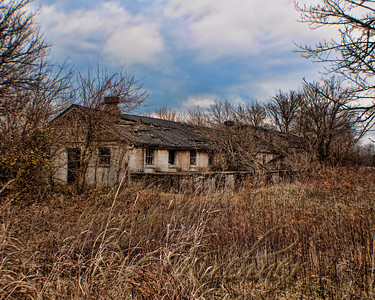 Long since forgotten and overgrown, this might have been a small factory or part of a farm long ago.  Near Xenia, OH