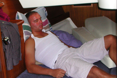 It is possible to relax at sea in the spacious cabins.