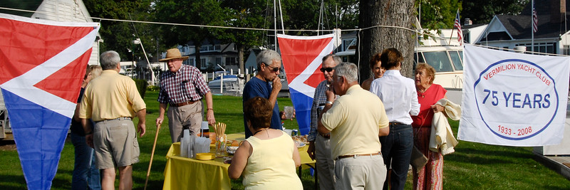 Cocktails before Clambake, September 2008