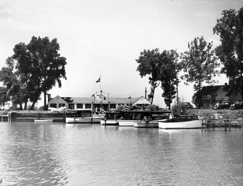 1936 Docks and Clubhouse