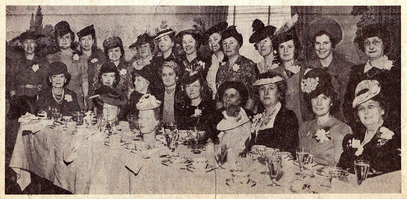 1941 VYC Women's League Luncheon