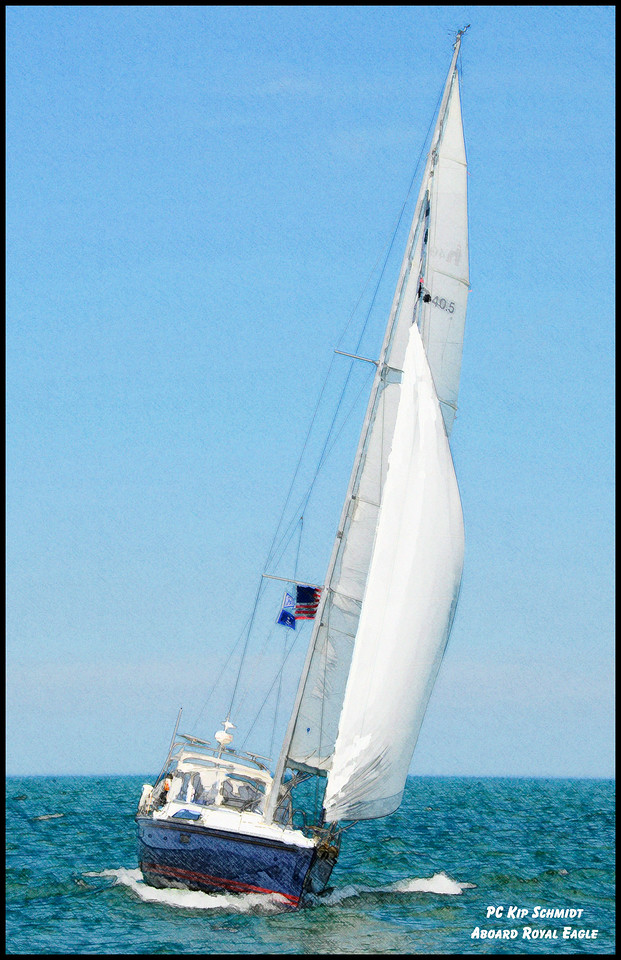 2008 PC Kip Schmidt aboard Royal Eagle