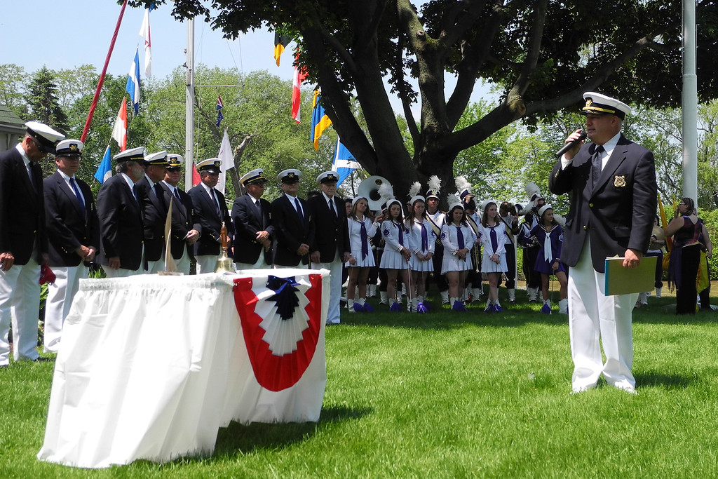 2011 Memorial Day, Commodore Bryce Custer