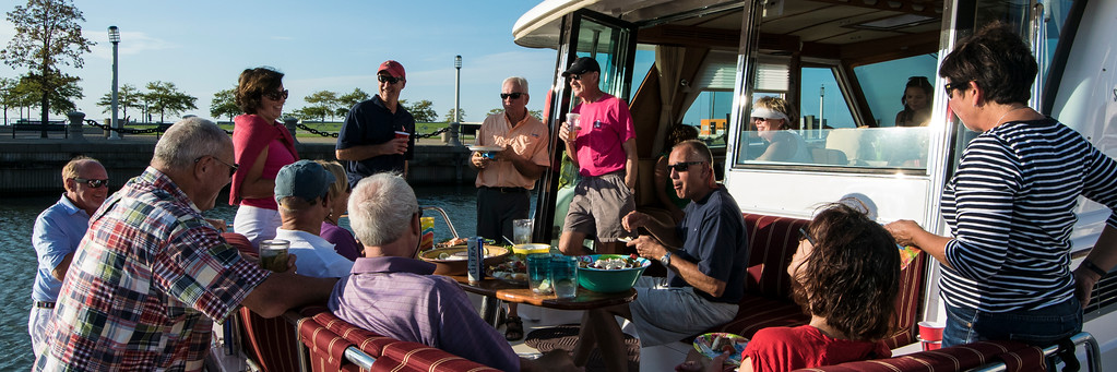 2014 Cleveland Cruise aboard PC Robertson's  Bumboat