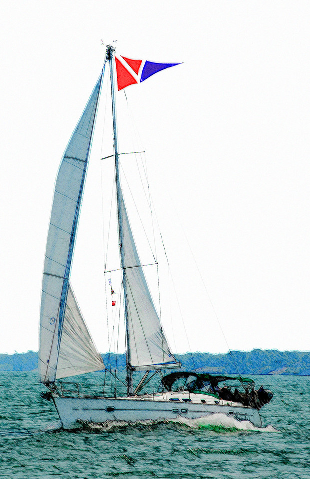 2009 Commodore Frank Lazorishak aboard Morning Star