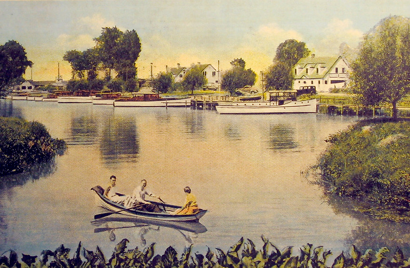 Easterly end of Ontario Lagoon in the 1930's
