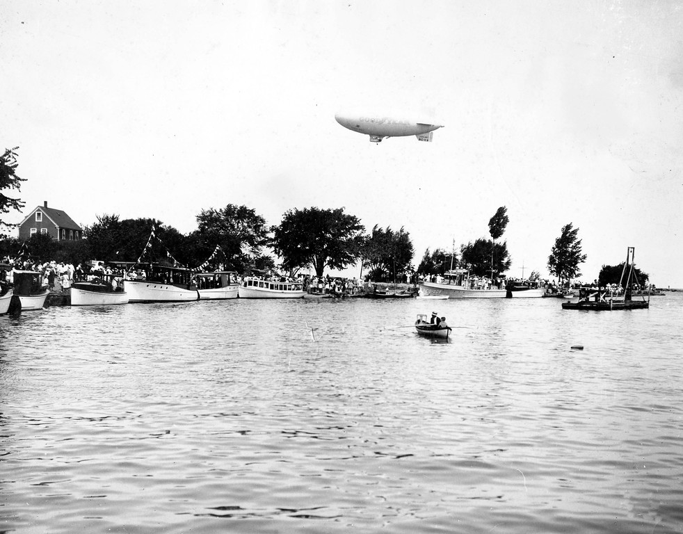 1932 South Shore Regatta, before construction of VYC clubhouse