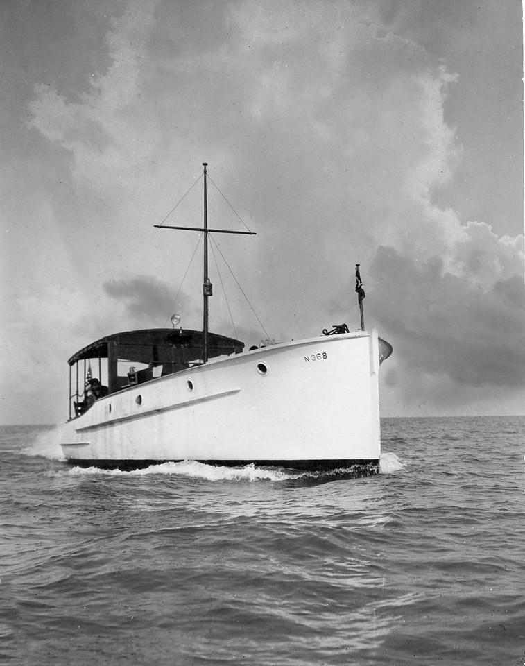 "1936 Commodore John G. Robinson's VYC Flagship ""Consort"""