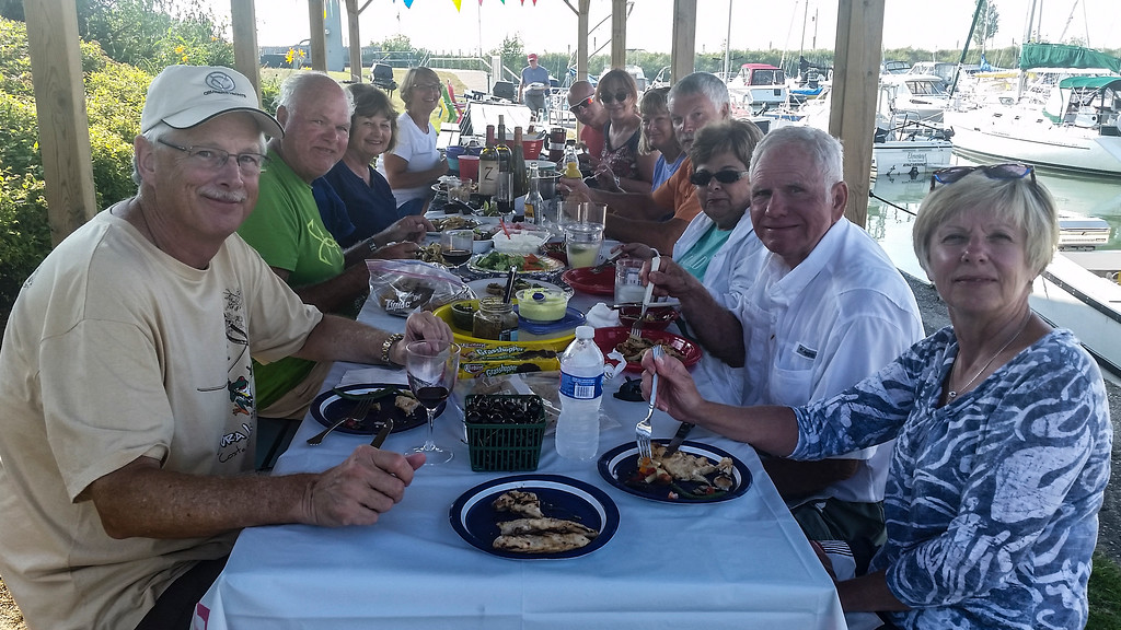 VYC Cookout at Kincardine, Ontario, July 2015