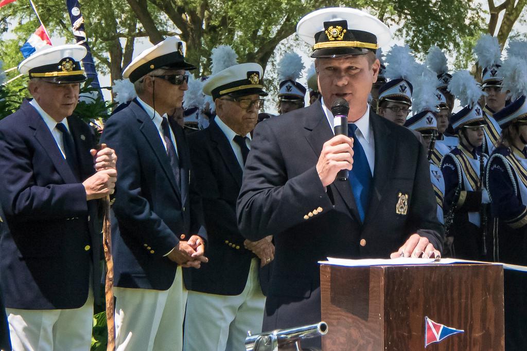 2016 Commodore Joe Kujawski on Memorial Day