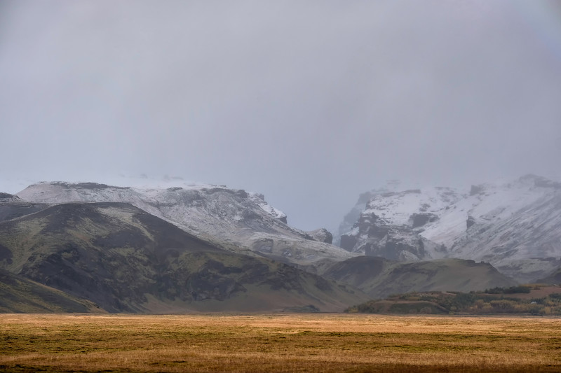 Mountains in early winter