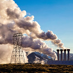 Iceland electric power plant