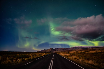 Northern Lights road