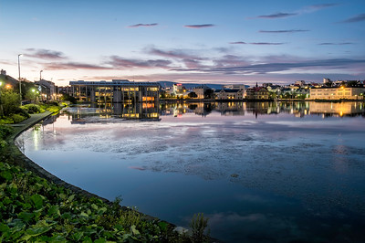 Reykjavik summer night