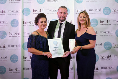 Ronan McGrade Photography was awarded Runner Up in the Best Photographer category at the Getting Married in Northern Ireland Reader Awards' 2017/2018 sponsored by He-Shi Exceptional Tan.  Ronan McGrade receives his award from Dawn Hamilton of Getting Married in Northern Ireland magazine.