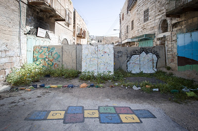 Hebron, Palestine; H2, the Israeli side.