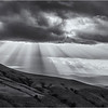 Sun Rays Over Hay Bluff