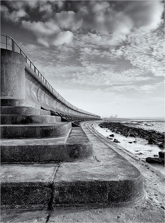 Severn Beach Sea Wall