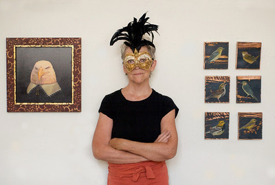 Artist Cynthia Burke - Appeared in the C-ville (2010)