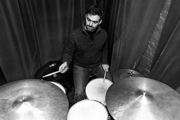 Jerad Lippi on drums