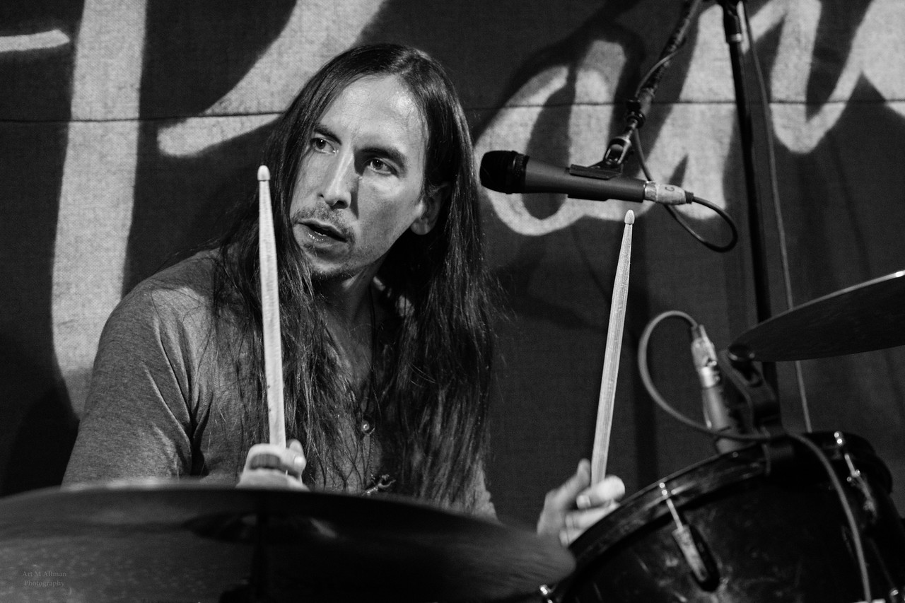 Jonathan Crowley on drums