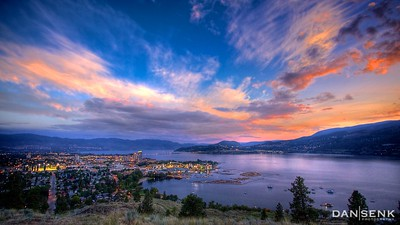okanagan nightfall