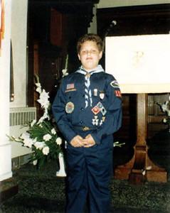 Cub Scout Sean