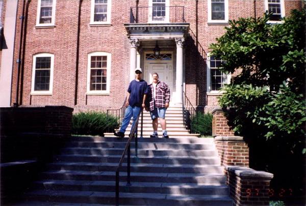 Sean and Jason at PSU