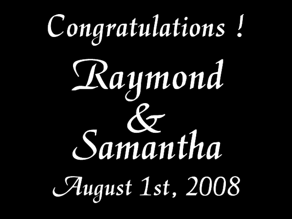 RAY & SAMANTHA 3
