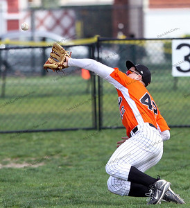 Fine diving catch made by Carey's CF John Daddino