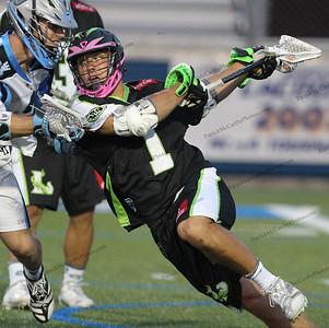 Major League Lacrosse LI Lizards and the Ohio Machine, on June 28, 2014