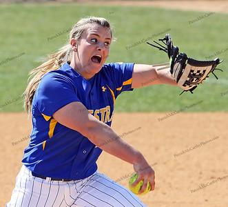 Hofstra's pitcher Olivia Gallati