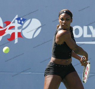 Serena Williams at  2004 US Open.