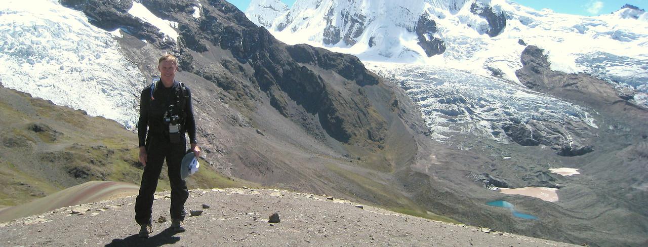 17,000' pass with Ausangate massif