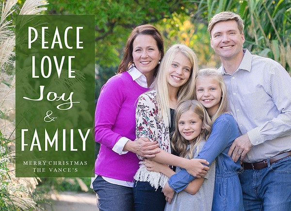 Sirotak Peace love joy and family