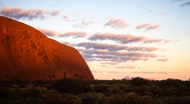 Ayer's Rock, Uluru, Australia  March 1998