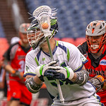 MLL Conference lacrosse game between the Denver Outlaws and the Chesapeake Bayhawks at Sports Authority Field at Mile High in Denver, Colorado on May 13, 2018.  Final score of the game was the Chesapeake Bayhawks - 24 and the Denver Outlaw - 22.