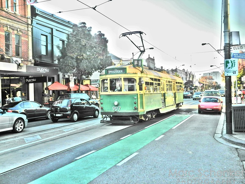 Yarra trams, Melbourne