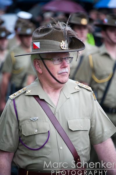 ANZAC Day parade, Melbourne, 2012