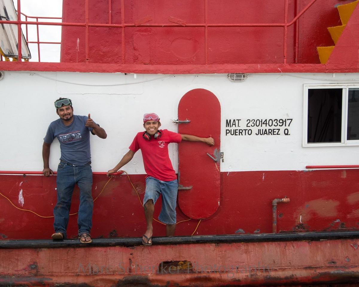Raise the anchor, Chiquila, Quintana Roo, 2009