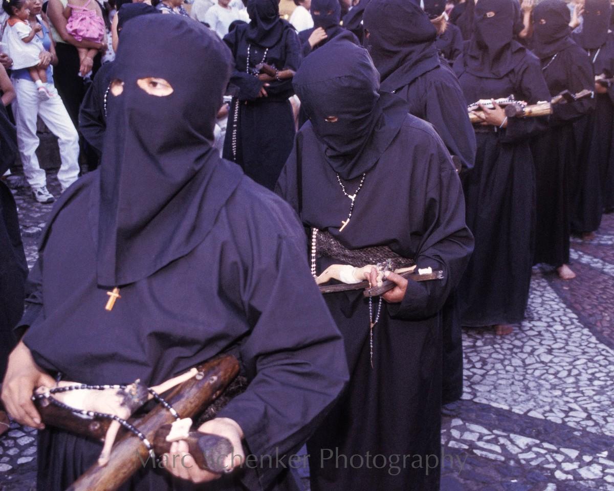 Semana santa en negro, Taxco, Guerrero, 2003