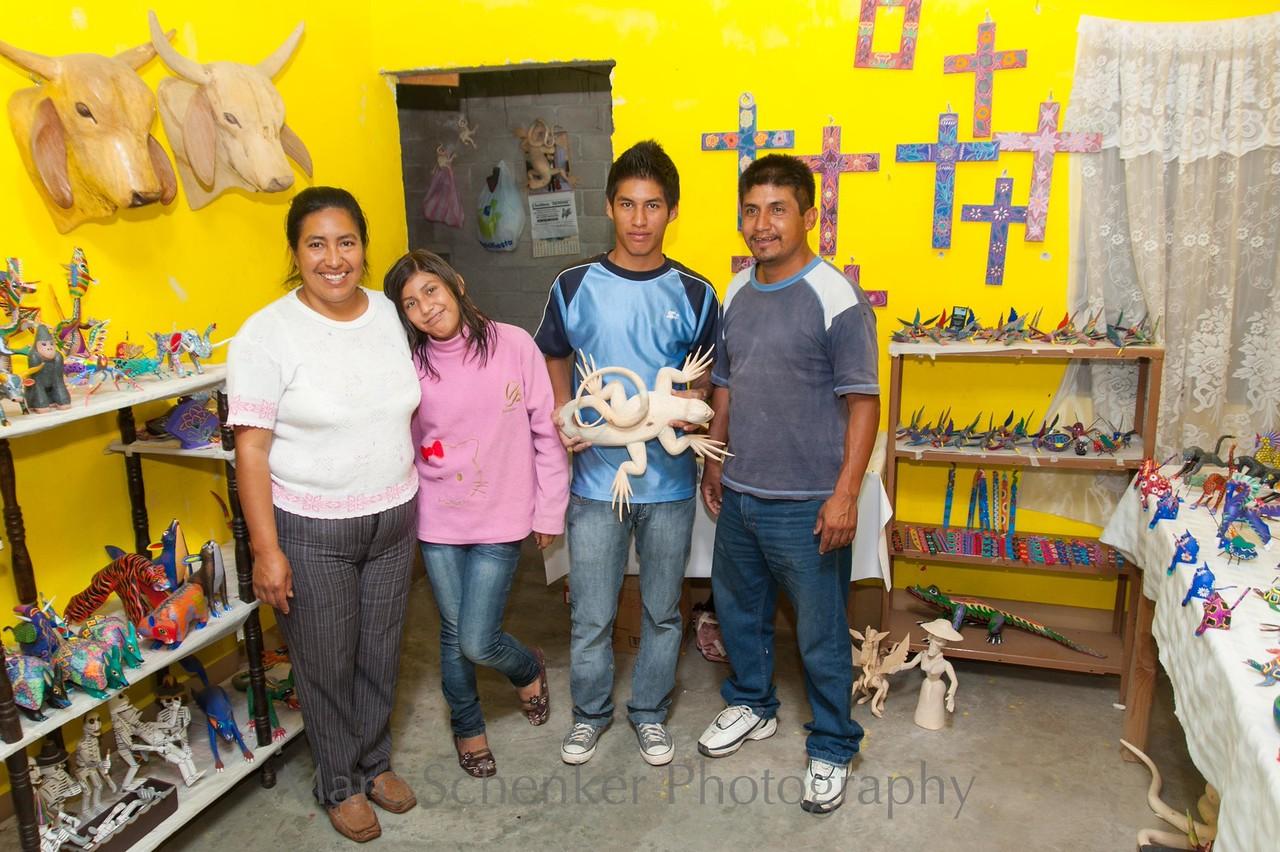 Alebrijes........fantastic creatures. Arrazola, Oaxaca. 2009