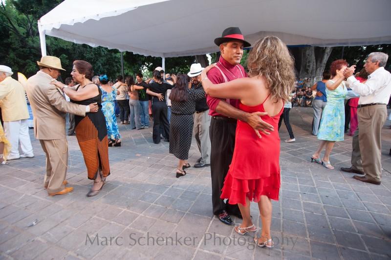 Danzon en rojo, Oaxaca, Oaxaca 2009