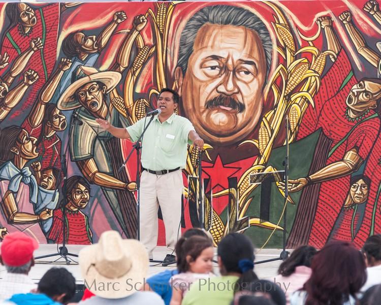 El pueblo unido, jamás será vencido, Oaxaca, 2012