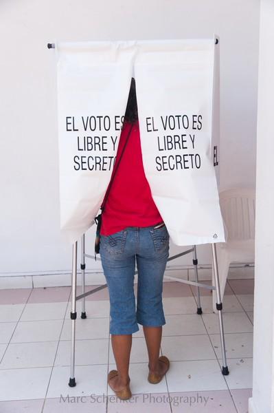 El voto es libre y secreto, Veracruz, Veracruz 2008