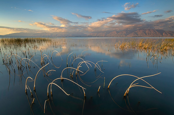 Utah Lake Late Afternoon