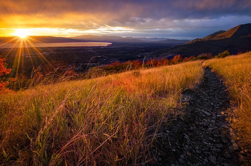 Golden Autumn Sunset