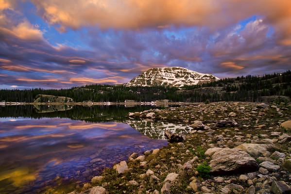 Sunrise at Wall Lake