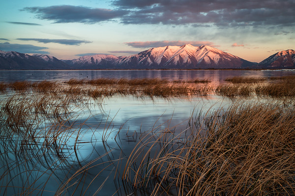 Utah Lake Sunset